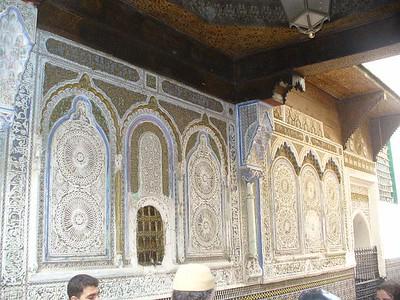 209_Fes_Zaouia_Mausolee_ Moulay_Idriss_II_Sanctuaire_plus_venere