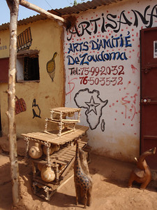 040_Bobo-Dioulasso  The Old Quarter of Kibidwe  Craft Shop