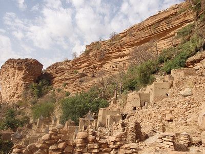 545_Dogon Country  The Stairs Up-and-Down to Banani Village