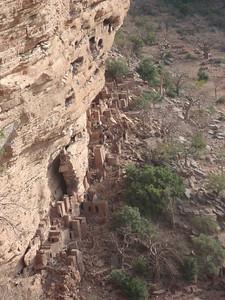 527_Bongo Village  Bandiagara Escarpment  Tellem Buildings