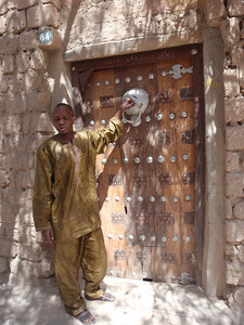 083_Timbuktu  A Private Residence  The Elaborate Door