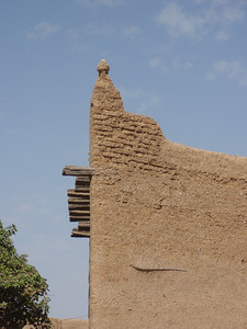 180_Djenne Old Town  Surrounded by Decaying Mudbrick Walls