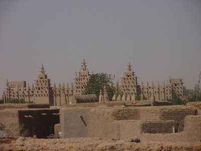 191_Djenne Old Town  Great Mosque  Largest Mud-Building in the World