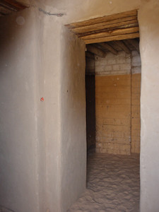 084_Timbuktu  A Private Residence  The Angualr Entrance-way