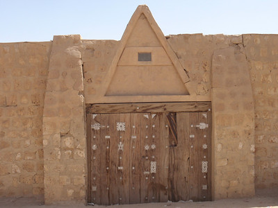091_Timbuktu  Elaborate Decorated Doors with Metal Objects