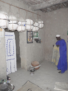 272_Private Residence Interior  Wealth is Based on Number of Pots