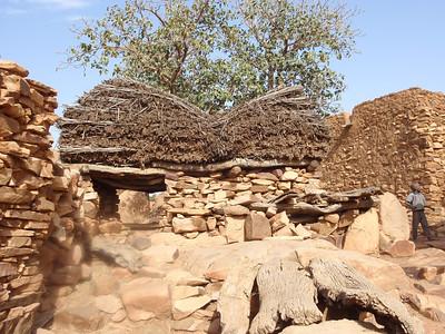 438_Dogon Country  Songo Village  A Look-Alike Togu-na