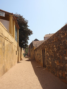 047_Goree Island  The Old Colonial Quarter  Narrow Alley
