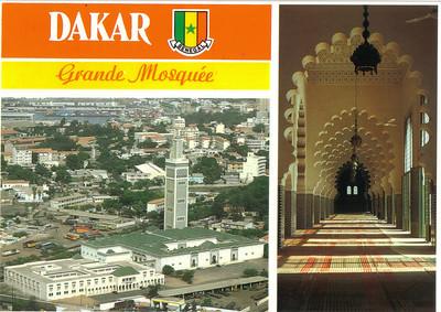 033_Dakar  La Grande Mosque  1964