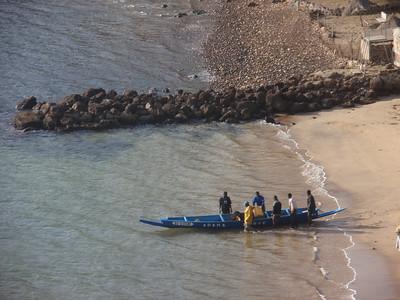 013_Dakar  The Rugged Atlantic Coastline  Fishermen