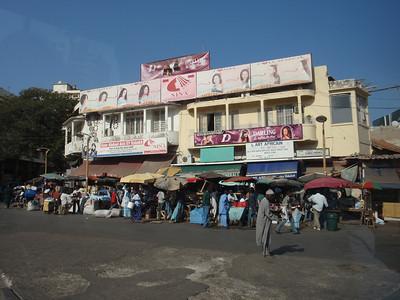 031_Dakar  The Busy Street and a Vibrant Market