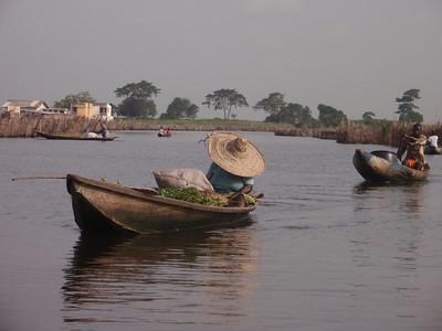 100_Ganvie Lake Community  Lake Nokoue  Small Floating Markets