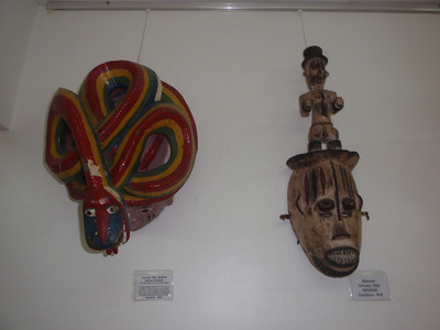 069_Lome  MIGG  Two Masks  Nigeria  1931