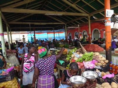 023_Santiago Island  Praia  The Plateau  The Market