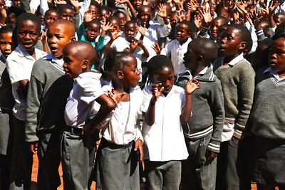 096_Soweto  South Western Township  School Children