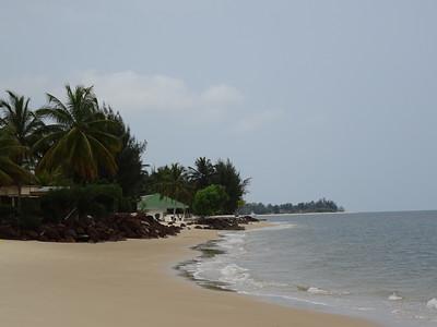 066_Estuary and Point Denis  A Peninsula between the Atlantic Ocean and the Gabon Estuary