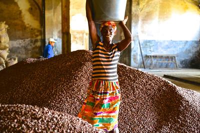 069_Sao Tome Island  Cocoa Processing  The Plantation House of Agua Ize