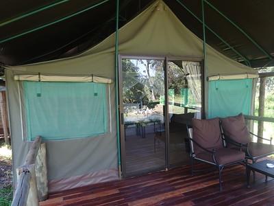 023_Okavango Delta, Moremi Game Reserve  My Chalet Balcony