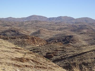 260_Namib Desert  The Spectacular Rocky Kuiseb Canyon, 9 km