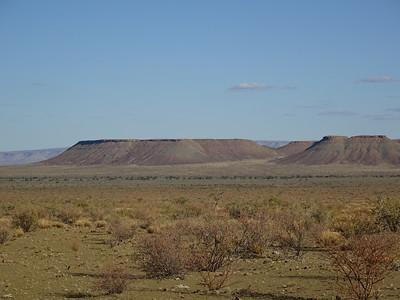 069_Kalahari Desert  Extremely scenic, passing through beautiful desert hills