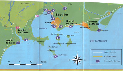 023_La 138 et L'Archipel des Sept-Îles  Map