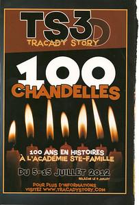 396_Le Spectacle Extérieur  TS3D, 100 Chandelles