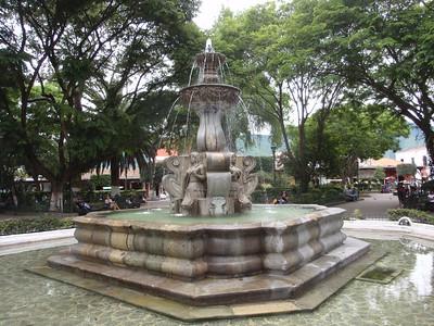 054  Antigua  The Central Square Fountain