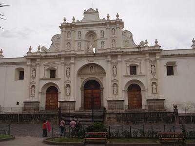 059  Antigua  Central Square  St  Joseph's Cathedral  1680