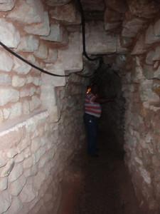191  Copan ruins  The Jaguar Tunnel