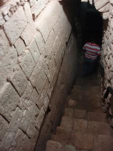 188  Copan ruins  The Jaguar Tunnel