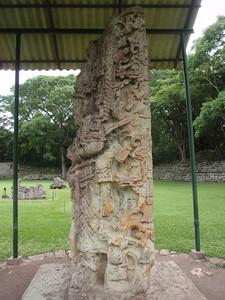 100  Copan Ruins  The Grand Plaza  Stela H  730 A D