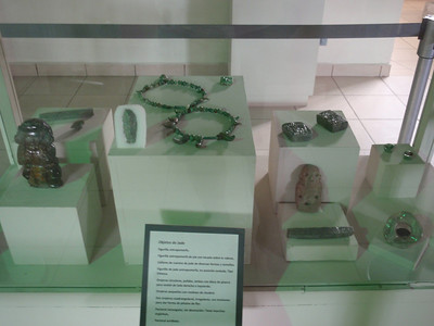 303  Copan  Jade Objects
