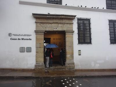 057_Bogota  The Candelaria Historical District  Casa De Moneda  Massive Front Door