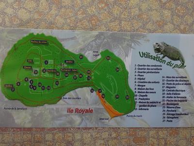119_L'Ile Royale  Le Plan des Installations