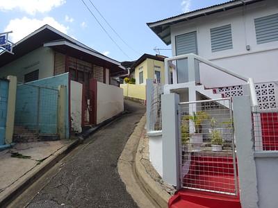 034_Port of Spain  Narrow Street