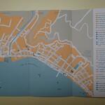 051_Saint-Pierre  Le Plan de la Ville aujourd'hui  Population de 4,500 habitants