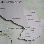 013_Paraguay Map  The Cordillera Central  Asuncion Region  Population 1 5 million