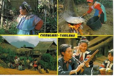 57_CM_Hilltribe_1_ 2_Lisou_Thai_3_E_Kro_Children_4_Meo