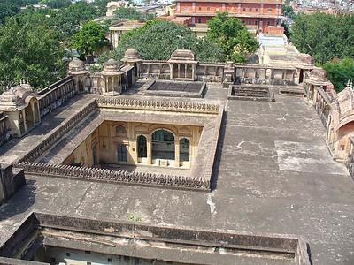 209_Jaipur_Hawa_Mahal_maison_voisine_cour_interieure
