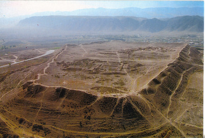 158_Nisa, View of the site  Founded in 3rd  C  BC, lasted until 13th  C