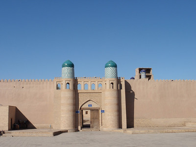 783_Khiva, The Kunya-Ark  The original residence of the khans