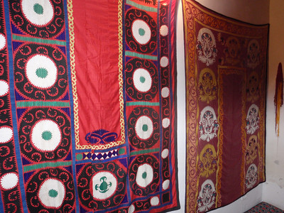 091_Margilan, Madrassah Said Akhmad Khuja, XIX C , Natural Dyes