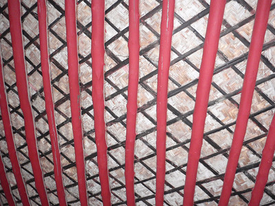 033_Beit Sheikh Isa bin Ali  The Sheikh Quarter  Living Room  Ceiling