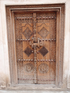 028_Beit Sheikh Isa bin Ali  Family Quarter  Decorated Door