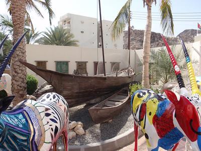 046_Muscat  Bait Al-Zubair Museum  Fishing Boat