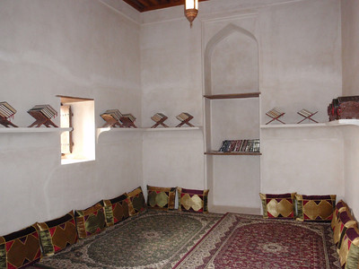 182_Jabrin Castle  1st  Floor  Library