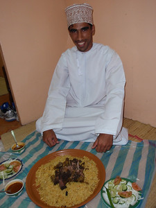 082_Muscat  Typical Meal and Setting  Eating with the Fingers