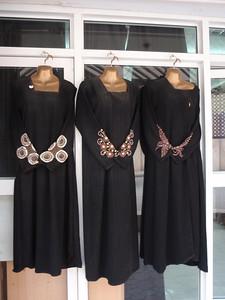 116_Nizwa Souq  The Abeya  Woman Full-Lenght Black Robe