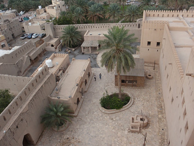 092_Nizwa Fort  Ground Floor Lay-Out and Architecture