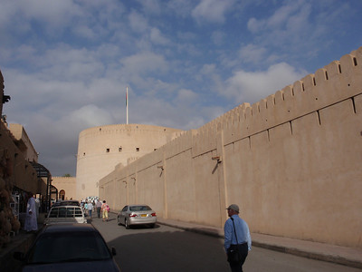 089_Nizwa Fort  17th  C  The Fortifications
